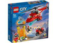 Lego City Fire Palokunnan pelastushelikopteri