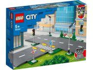 Lego City Town Tierakennuslevyt