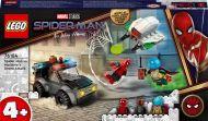 Lego Super Heroes Spider-Man ja Mysterion dronekopterihyökkäys