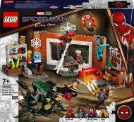 Lego Super Heroes Spider-Man Sanctum-tukikohdan työpajalla