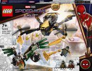Lego Super Heroes Spider-Man ja dronekopterien kaksintaistelu