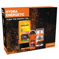 Loreal Men Expert Hydra Energetic Face and Body lahjapakkaus