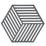 Zone pannunalunen Hexagon harmaa