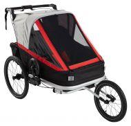 Rawlink 3-in1 pyöräilykärry/juoksurattaat/lastenrattaat