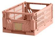 Day säilytyslaatikko 25x16,5x10 cm loh.pun. kokoontaittuva