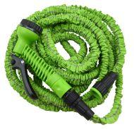 Venyvä kasteluletku, vihreä 7,5-22,5m