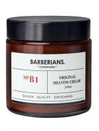 Barberians Shaving Cream parranajoöljy 100 ml