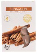 Tuoksulämpökynttilä Cinnamon 6 kpl