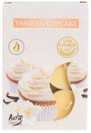 Tuoksulämpökynttilä Vanilla cupcake 6 kpl