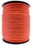 Piippo polyeteeniköysi palmikoitu 10 mm 7,5 kg 190 m oranssi
