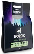 Racinel Nordic täysravinto lammas aikuisille koirille 3 kg