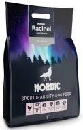Racinel Nordic sport&agility täysravinto aktiivisille koirille 3 kg