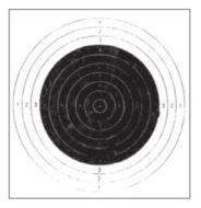 Tarkka Pienoiskivääritaulu 3 20x20 cm 100 kpl