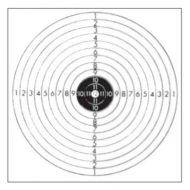 Tarkka Pienoiskivääritaulu 11 14x14 cm 100 kpl