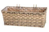 4Living parvekelaatikko Mocca 44x19x16 cm