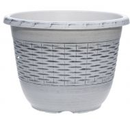 4Living muoviruukku Punos 40,5 cm valkoinen