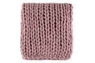 Fanni K Home torkkupeitto Jumbo 127x152 cm roosa
