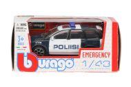 Bburago pikkuauto 1:43 poliisi
