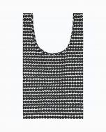 Marimekko Smartbag-ostoskassi Räsymatto musta