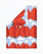 Marimekko parivuoteen pussilakana Mansikkavuoret 240x220 cm