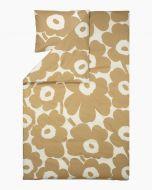 Marimekko Unikko pussilakana 150x210 cm beige