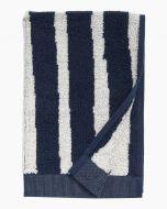 Marimekko pyyhe Kalasääski  30x50 cm tummansininen