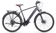 Tunturi polkupyörä eHybrid 2.0 28'' 9-v. 56 cm mattaharmaa