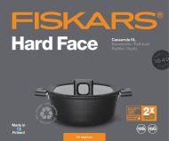 Fiskars Hard Face Kattila 5 l/26 cm kannella