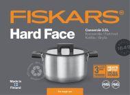 Fiskars Hard Face Kattila Steel 3,5 l/20 cm