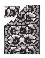 Finlayson satiinipussilakanasetti Lenita 150x210 cm musta/roosa