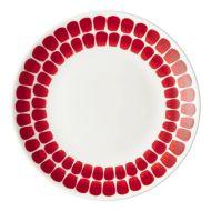 Arabia 24 hTuokio lautanen 20 cm punainen