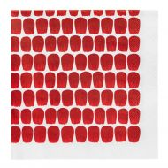 Arabia 24 hTuokio lautasliina 33 cm punainen