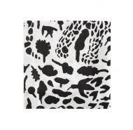 Iittala OTC lautasliina 33 cm Gepardi musta/valkoinen
