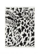 Iittala OTC pyyhe Gepardi 70x140 cm musta/valkoinen