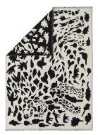 Iittala OTC huopa Gepardi 180x130 cm musta/valkoinen