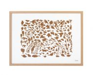 Iittala OTC taidejuliste 50x70 cm Gepardi