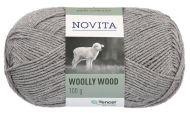 Novita Woolly Wood lanka kivi 043 100 g