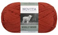 Novita Woolly Wood lanka ruska 281 100 g