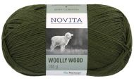 Novita Woolly Wood lanka mänty 384 100 g
