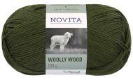 Novita Woolly Wood lanka mänty 384 100 g