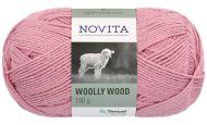 Novita Woolly Wood lanka terälehti 501 100 g