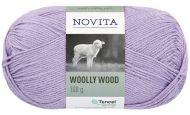 Novita Woolly Wood lanka mustikkamaito 730 100 g