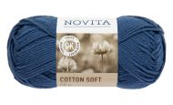 Novita Cotton Soft lanka keskiyö 171 50 g
