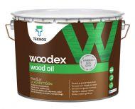 Teknos Puuöljy Woodex Wood Oil Grey 9 L