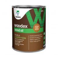 Teknos Puuöljy Woodex Wood Oil Brown 0,9 L