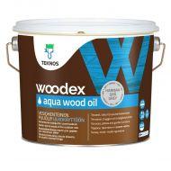 Teknos Puuöljy Woodex Aqua Wood Oil Grey 2,7 L
