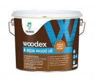Teknos Puuöljy Woodex Aqua Wood Oil Brown 2,7 L