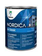 Teknos Nordica Classic talomaali 0,9 L PM1 valkoinen