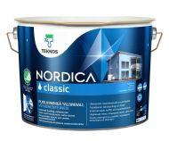 Teknos Nordica Classic talomaali 9 L PM1 valkoinen