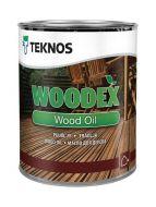 Teknos Puuöljy Woodex Bioleum 0,45 L ruskea